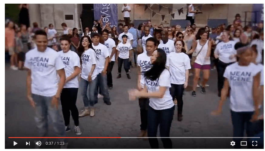 Flashmob at Sears Shop Your Way with Derek Hough jeanscene derekhough searsStyle YouTube