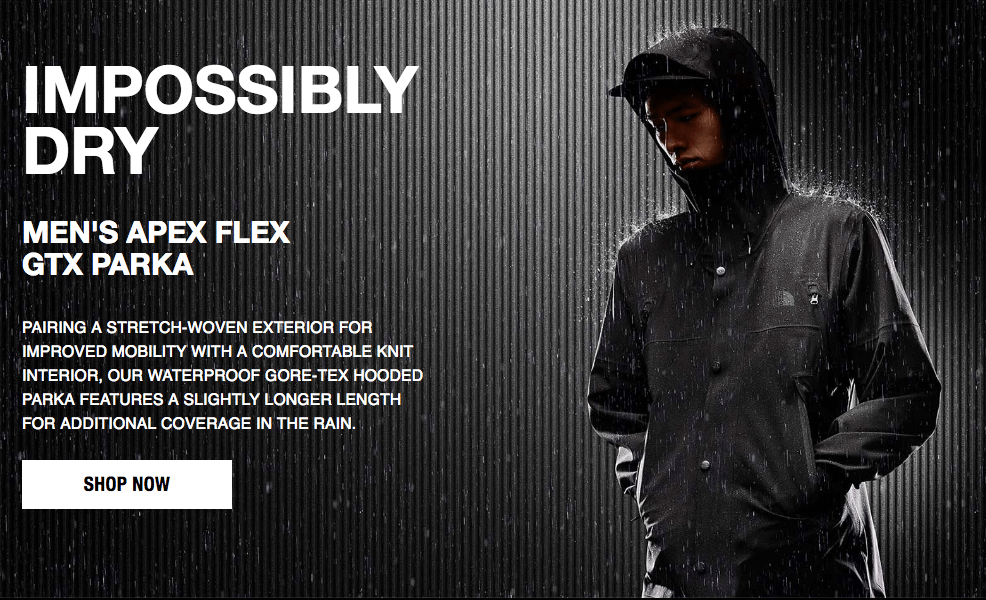 Apex Flex GTX Rain Jacket Ultra Soft Gore Tex The North Face2