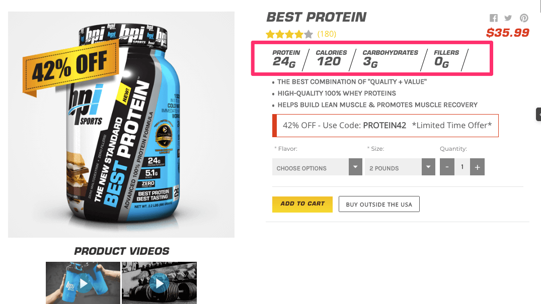 Best Protein Best Protein Powder BPI Sports Nutrition Supplements