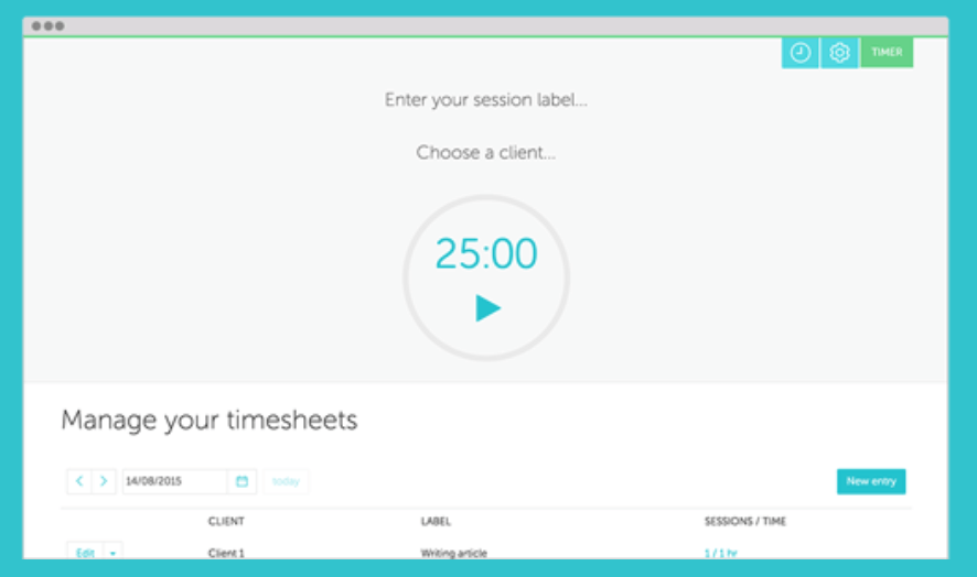 managing time sheet apps
