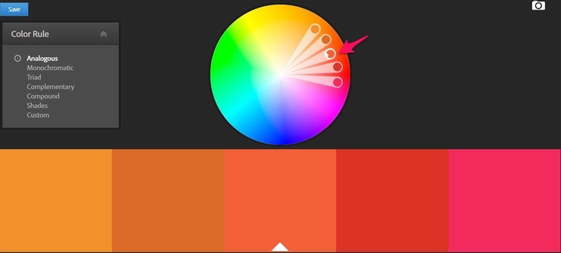 adobe cc color orange