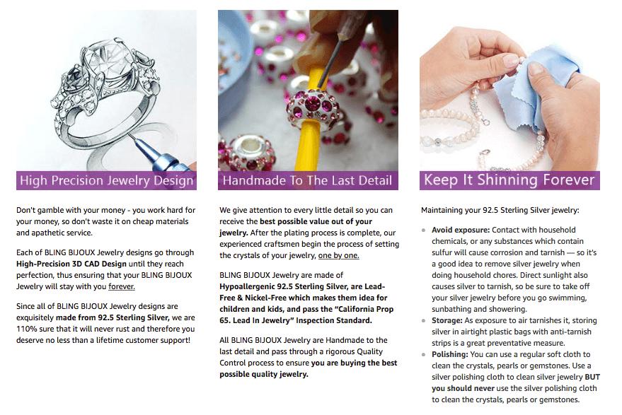 BLING BIJOUX Jewelry EBC Page 2