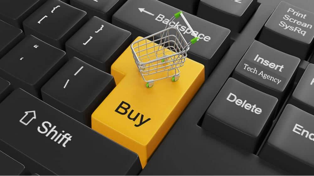 eCommerce website shopping cart