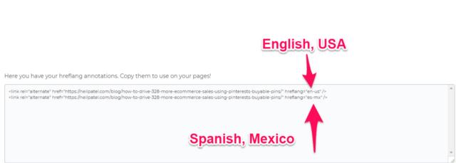 spanish code