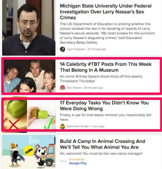 post headlines