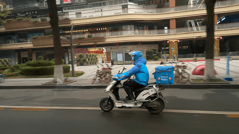 food deliveries to avoid contacts