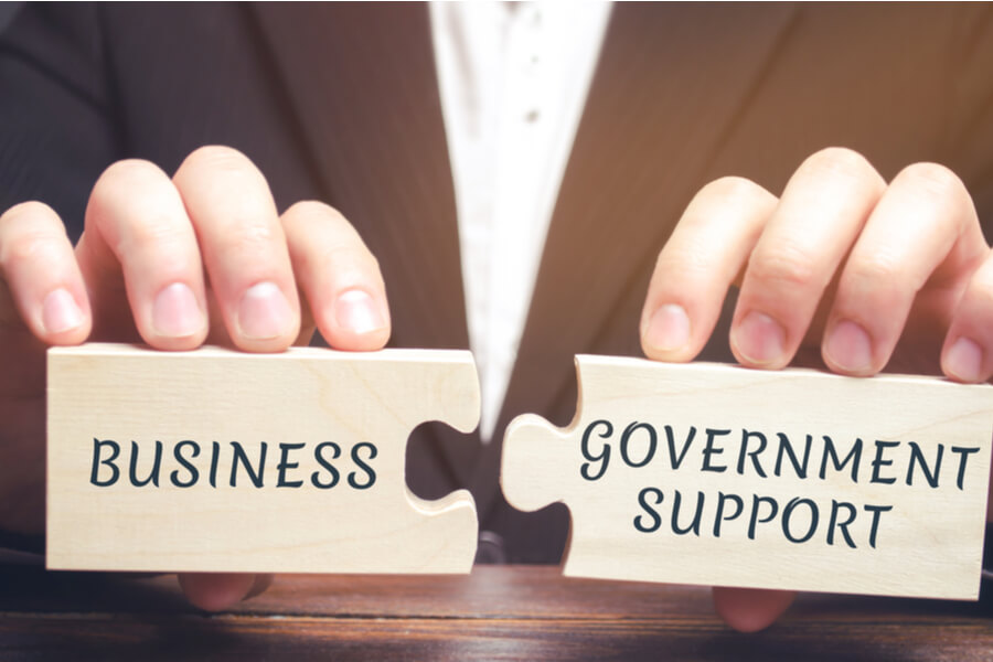 supporting business and government