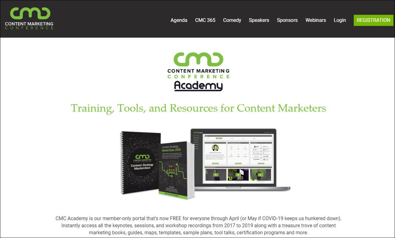 training tools for Content Marketers