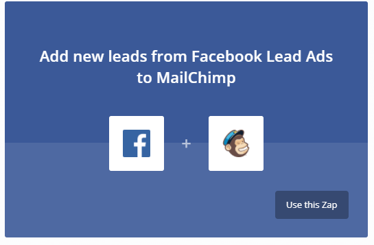 Lead Ads for Mailchimp