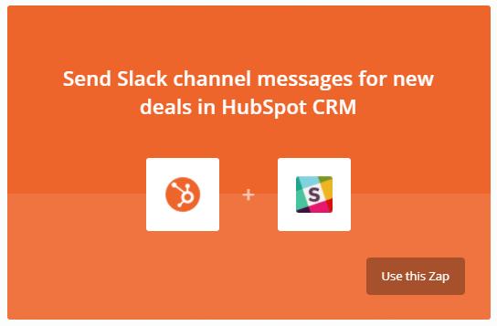 HubSpot messages to Slack