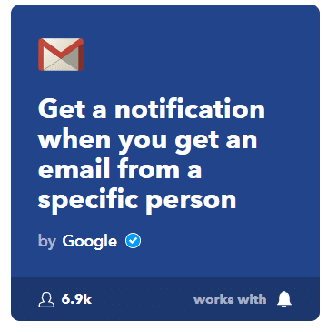 getting email from specific person