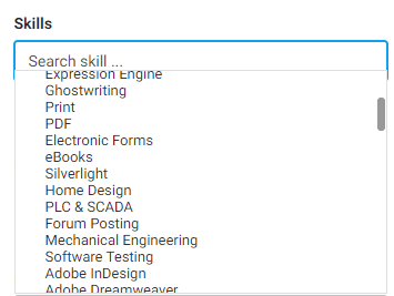 searching skills marketing