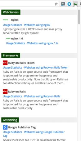 web link with descriptions