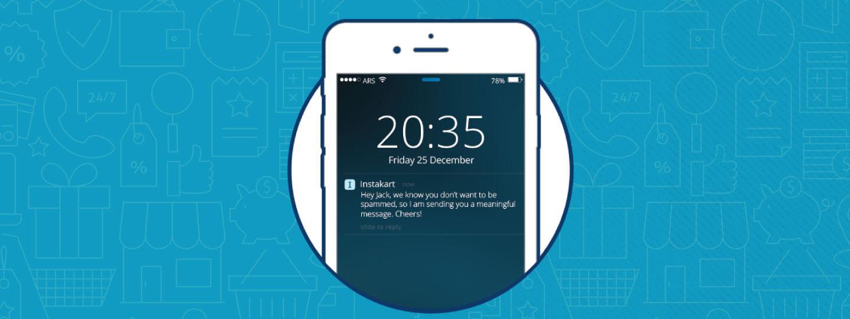 push notification mobile ecommerce