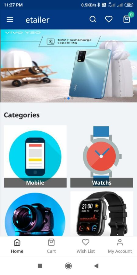 product browsing mobile ecommerce