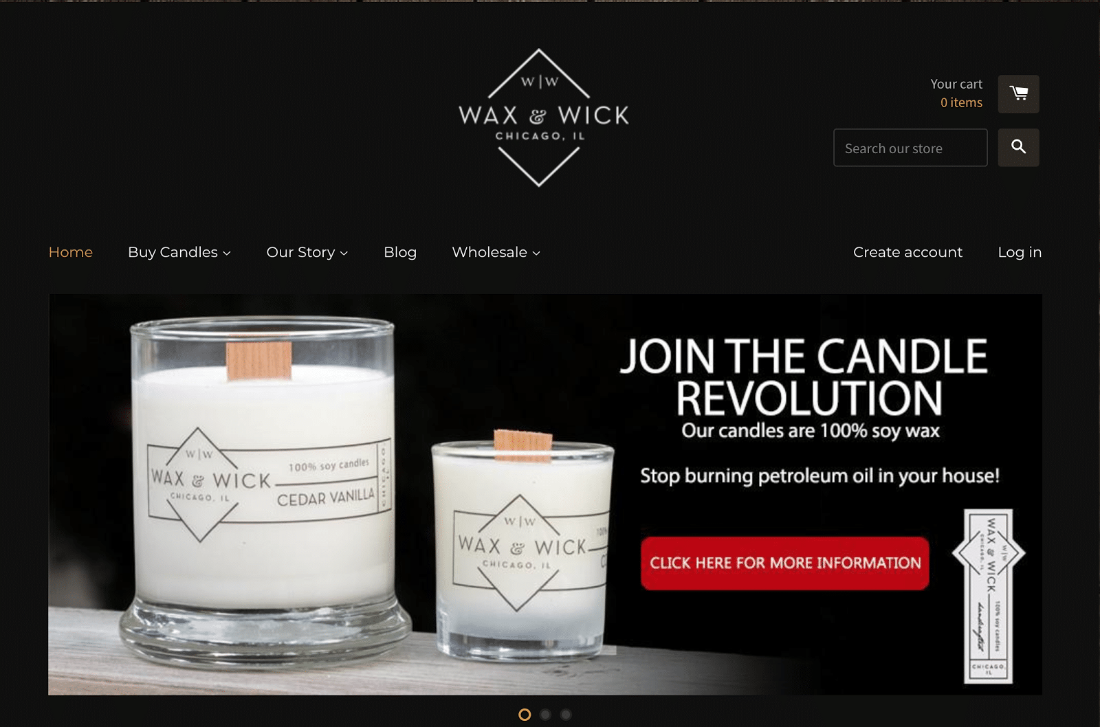 Wax and Wick, used Reddit to understand its customers