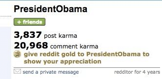 Post-Karma and Comment Karma