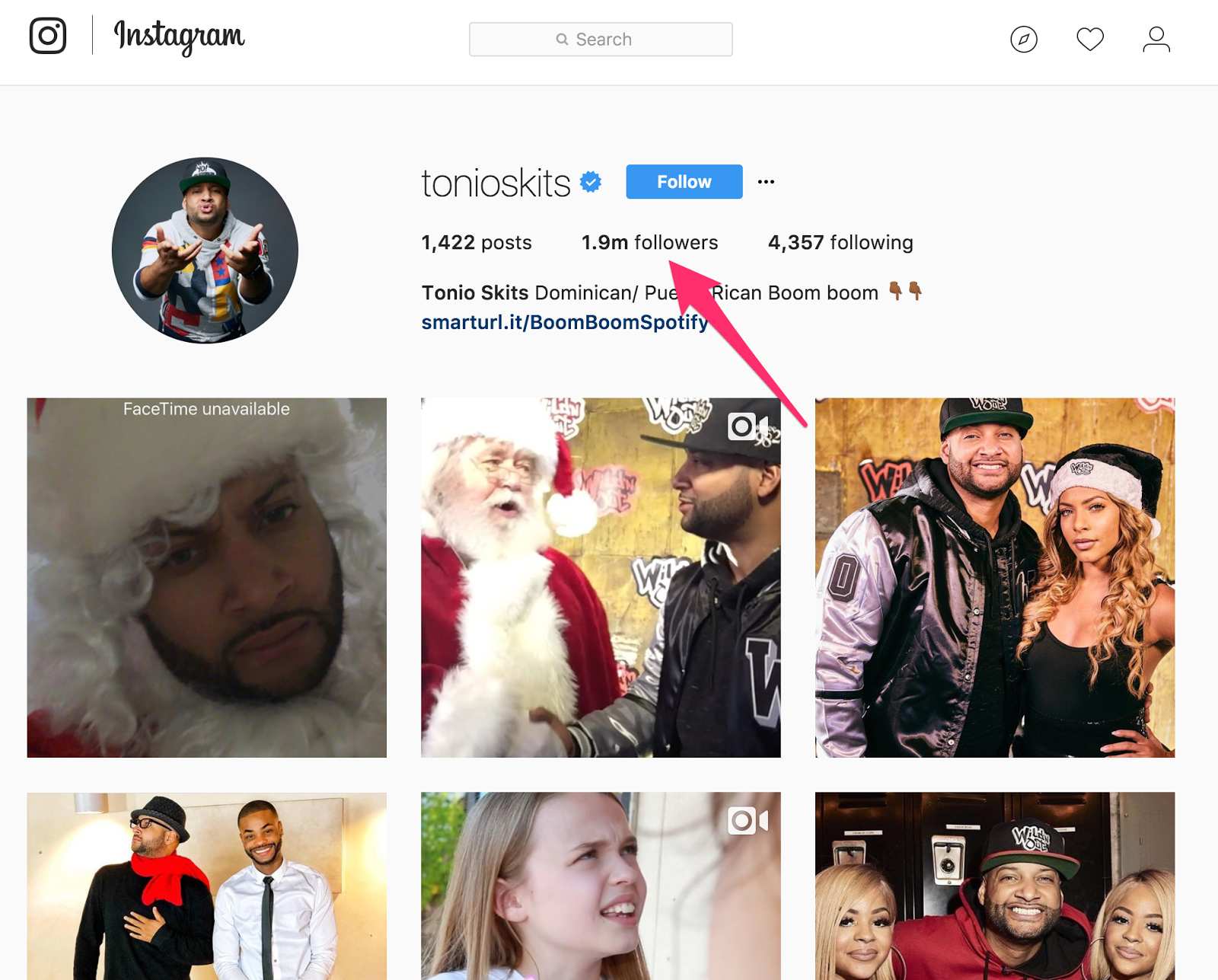 intagram influencer posts that enable to advertise