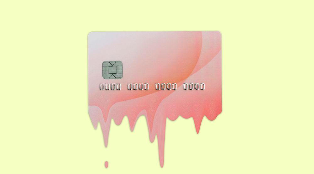sales using credit card