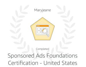 Amazon-Sponsored-Advertising-Certification