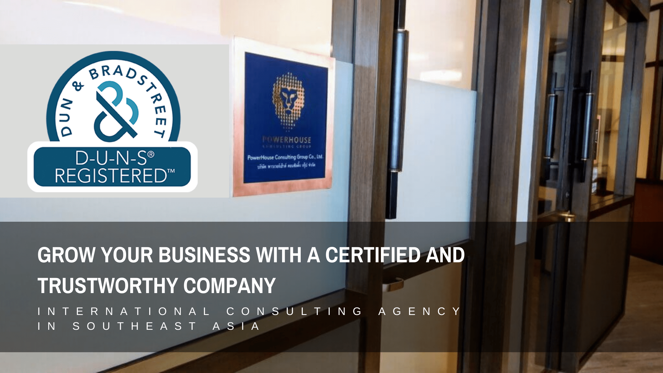 Grow Your Business with a Certified and Trustworthy