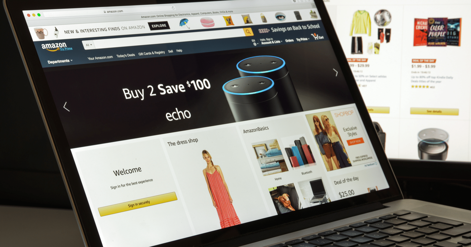 Amazon — Props Up Its Products