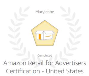 Amazon Retail Certification