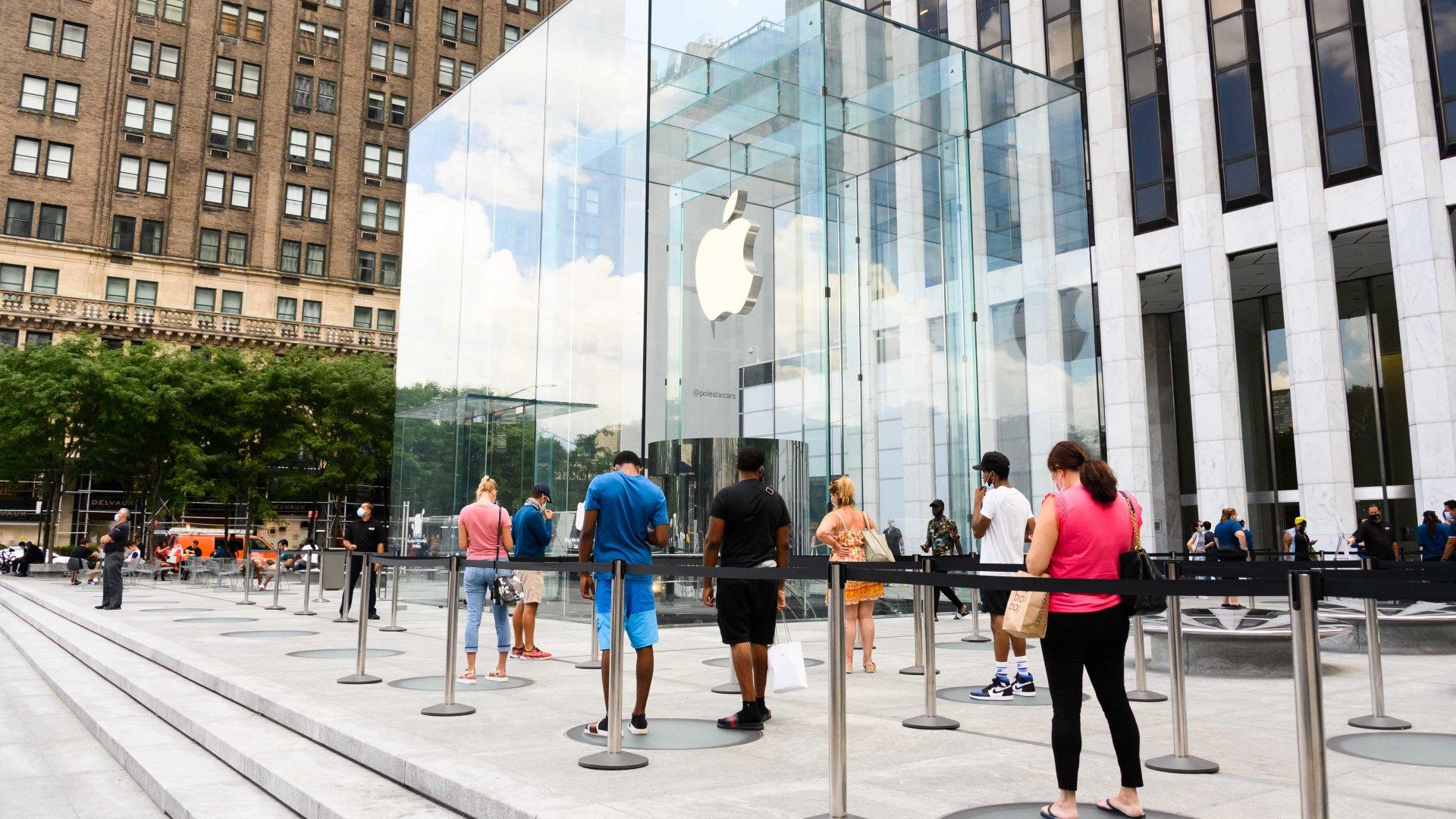 Apple — Stays on Brand