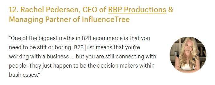 b2b e-commerce Influencer Marketing Strategies
