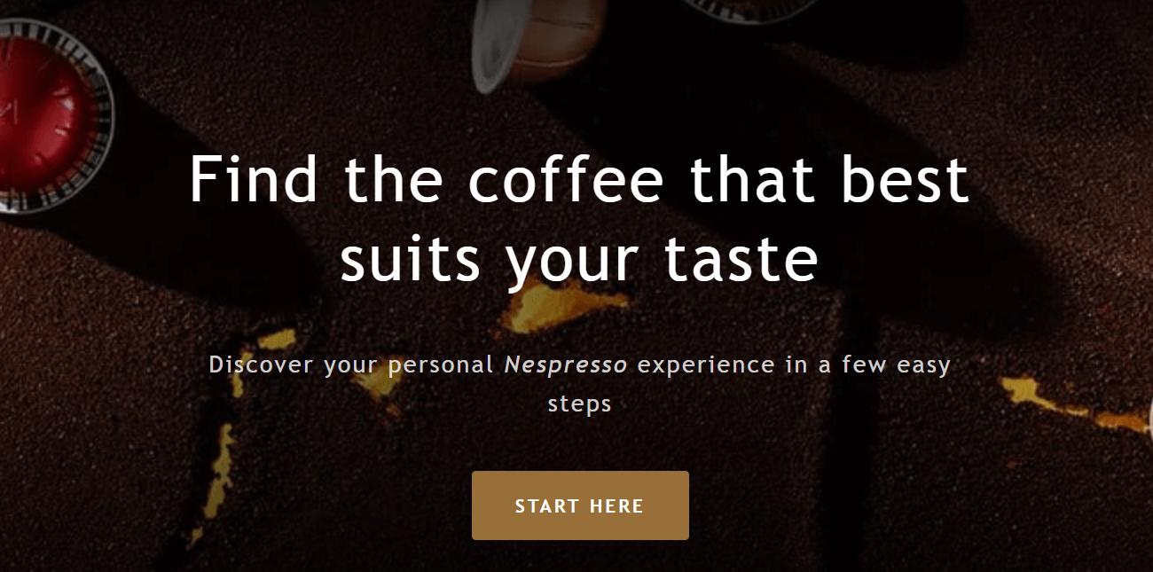 e-commerce personal nespresso