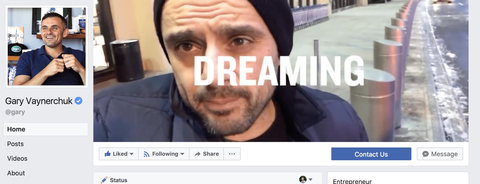 social media facebook post